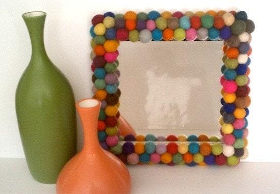 DIY войлочного шара Зеркало 100 шт 20 мм войлочных шаров YUMMI