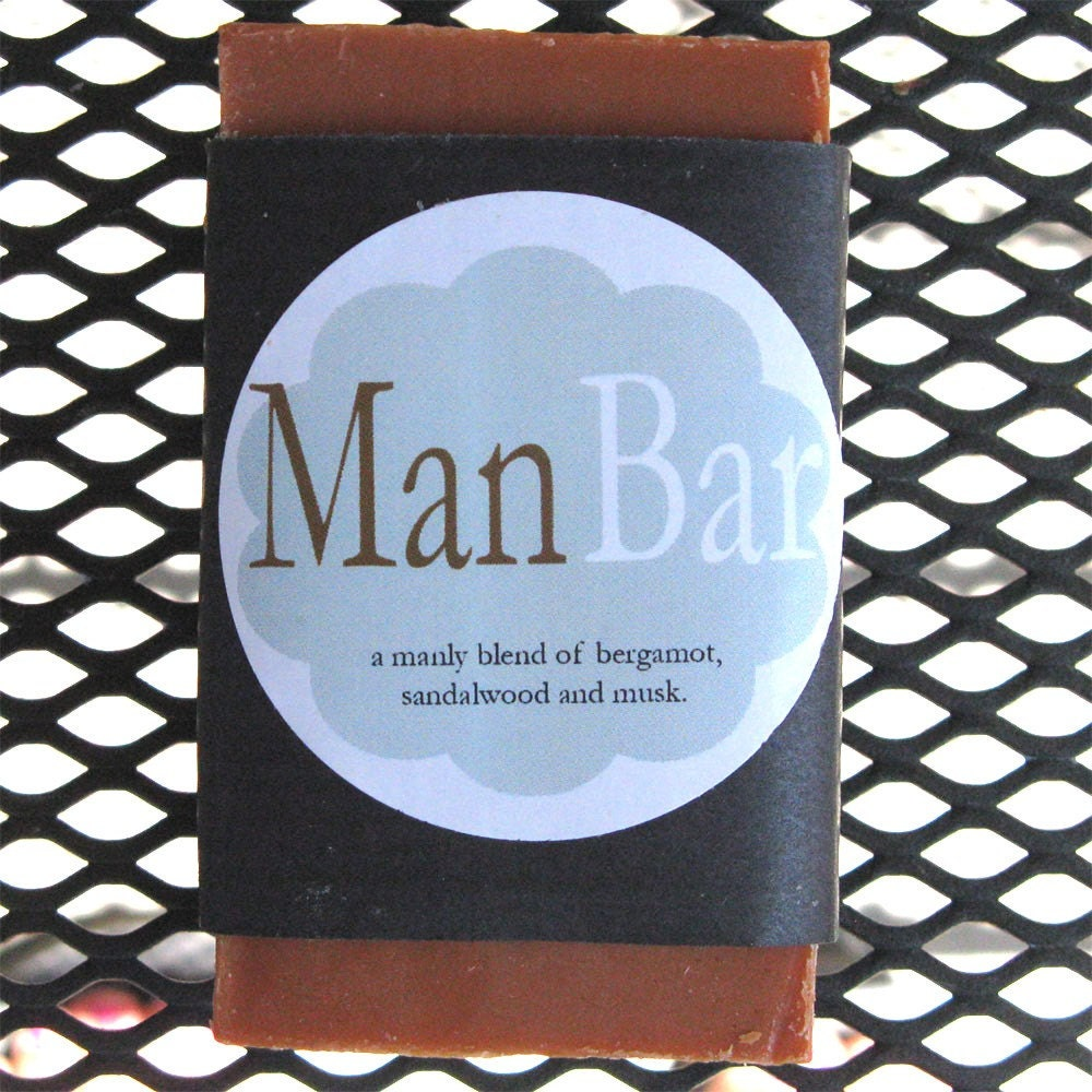 Man Bar Soap for a Man