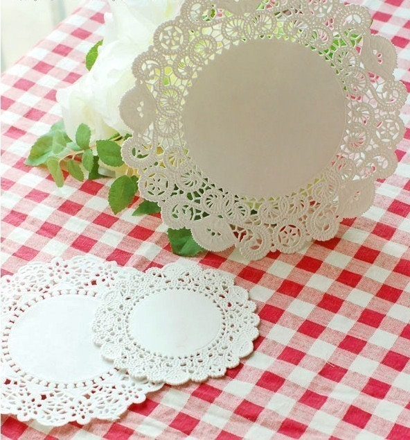 5inch Lace Paper Doilies (20 sheets)