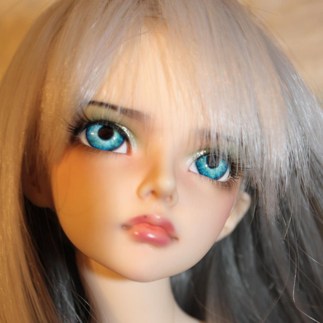 BJD eyes Doll eyes Hand made available in 12141618202224mm Crystal Ice made to order