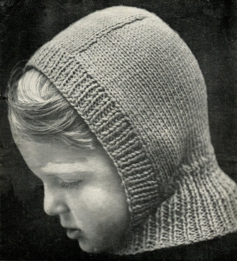 Instant Download - BALACLAVA and TOQUE Knitting Pattern - Hats for Men and Bo...