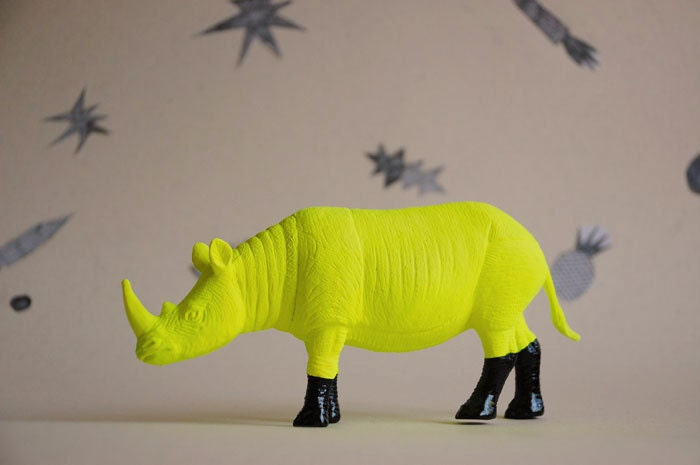 rhino - the strange planet