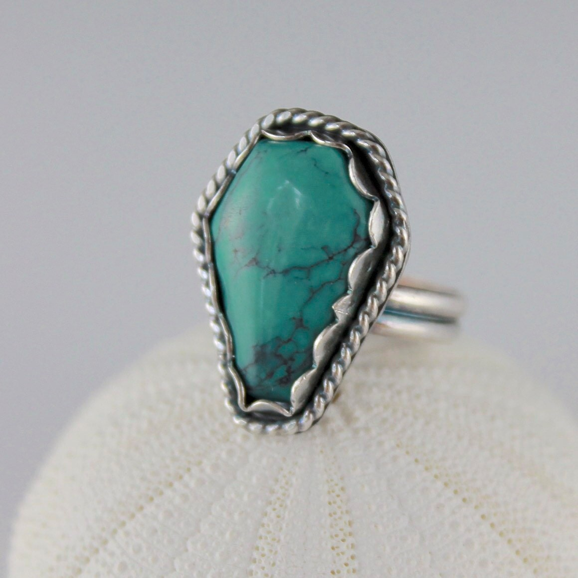 Reserved For D Halloween Turquoise Coffin Ring Kingman
