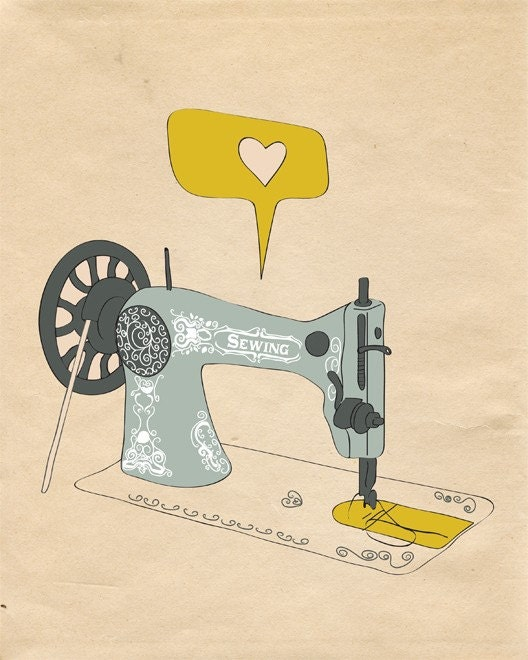 I AM SEW CREATIVE - (It's A Passion) - 8x10 Size Print