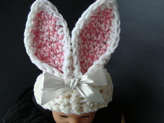 Free Crochet Pattern For Bunny Ears : Three Crochet Chicks Everything Crochet!: Bunny Ears ...