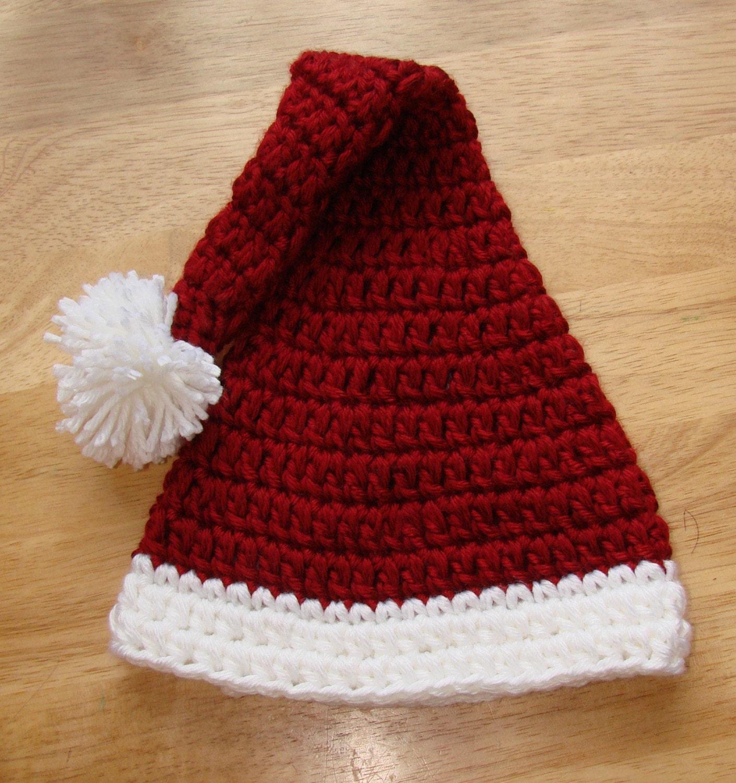 Quick Easy Crochet Baby Hat Pattern : CROCHET SANTA HEAD PATTERN FREE CROCHET PATTERNS