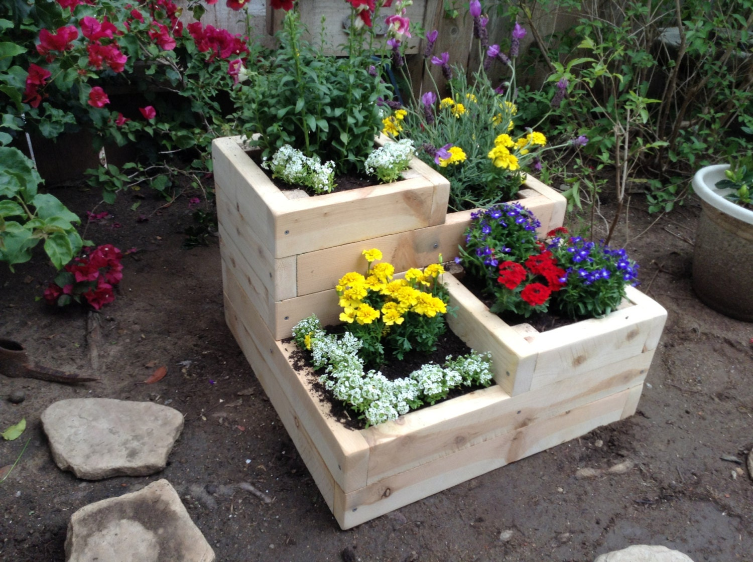 garden design with flower garden box designs box for herbs flowers or v with backyard makeovers