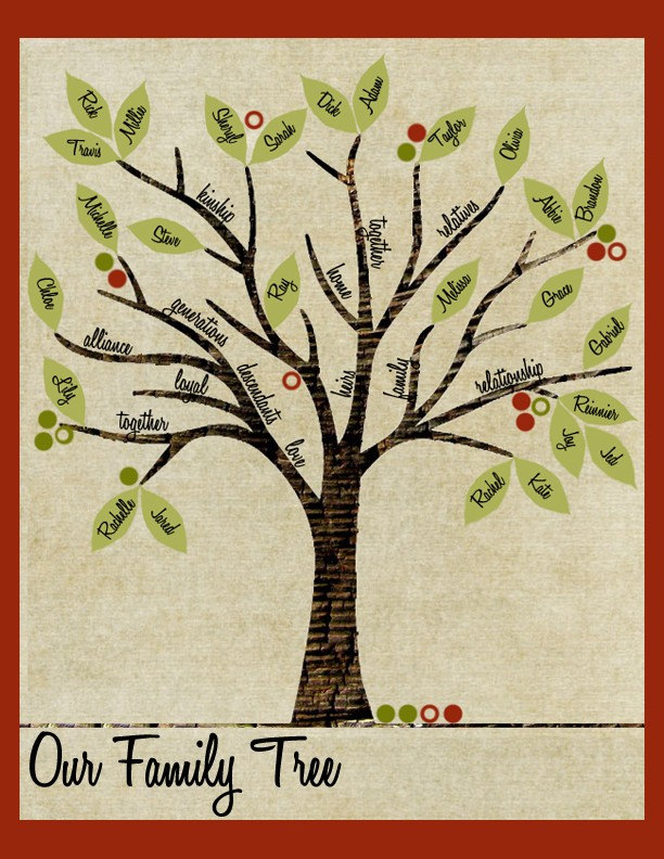 Family Tree (Print or PDF)