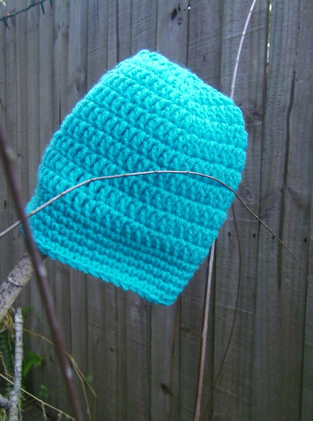 Turquoise Beanie (Adult) Fits ages 14 and Older