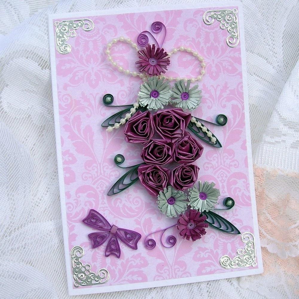 Бумага гофрированный пурпурная lt b gt роза lt b gt цветочный