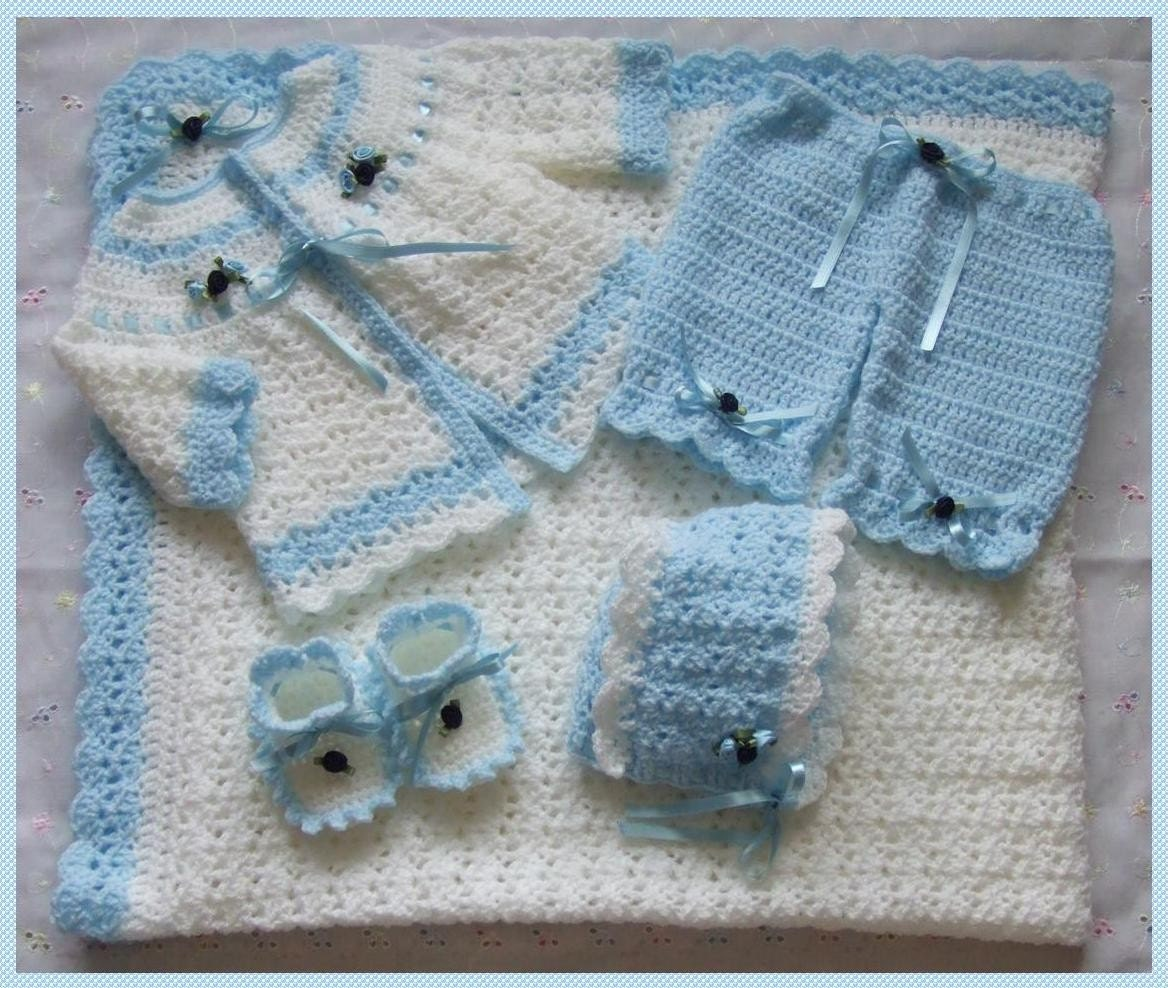 crochet baby layette patterns | eBay - Electronics, Cars, Fashion