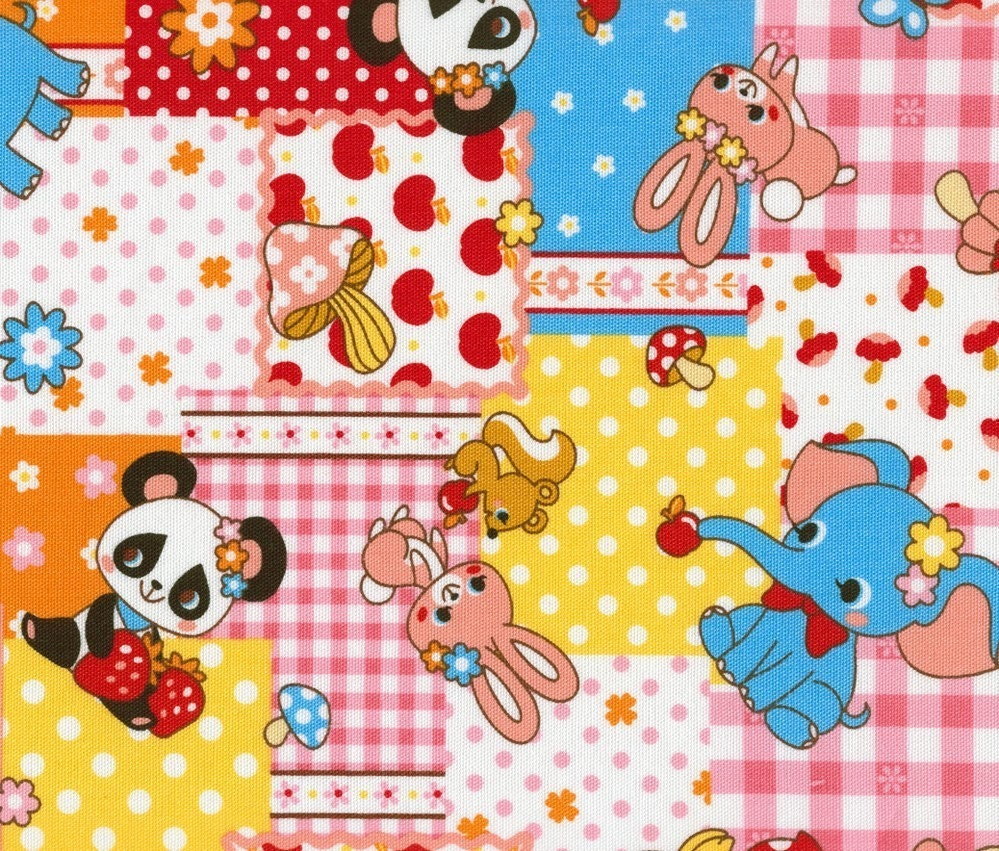 Dumbo and Friends - Japanese Fabric Fat Quarter