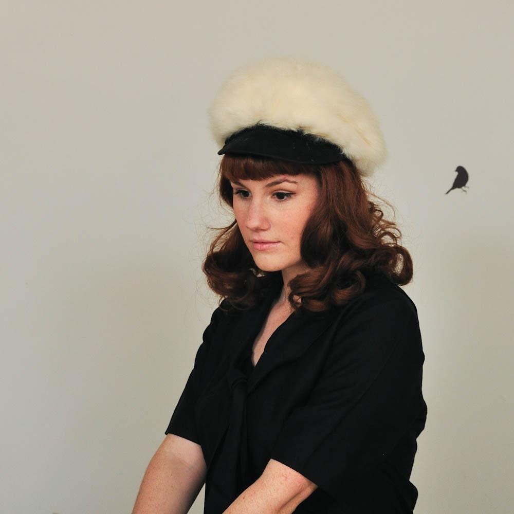 The 1960s Snow Bunny Fur Cap