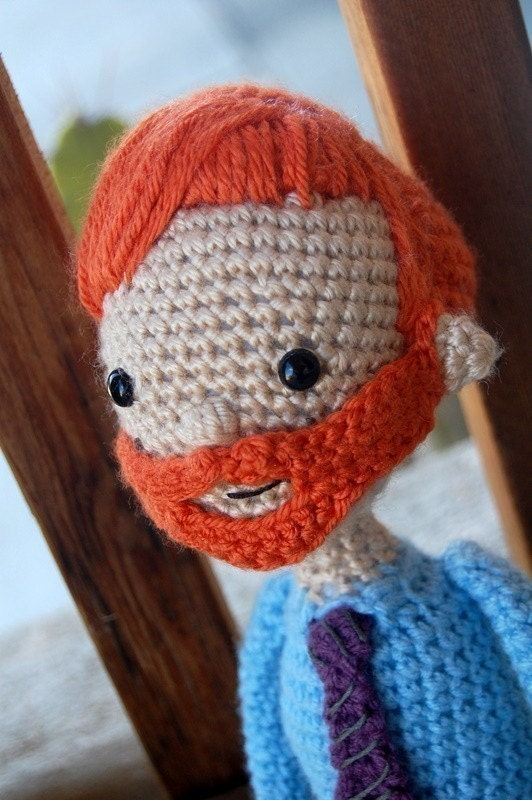 I'm With Coco Conan O'Brien Doll amigurumi Pattern PDF