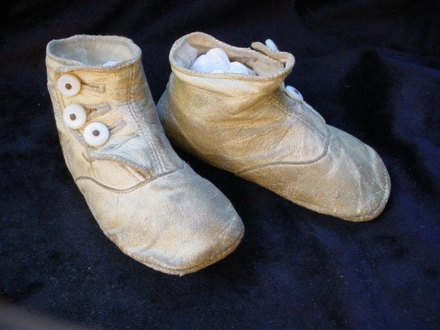 Antique Button Top Baby Shoes 1800 S By Texasheirlooms On Etsy