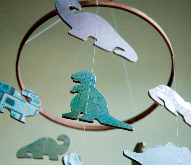 Dinosaur Nursery Mobile - Mega size
