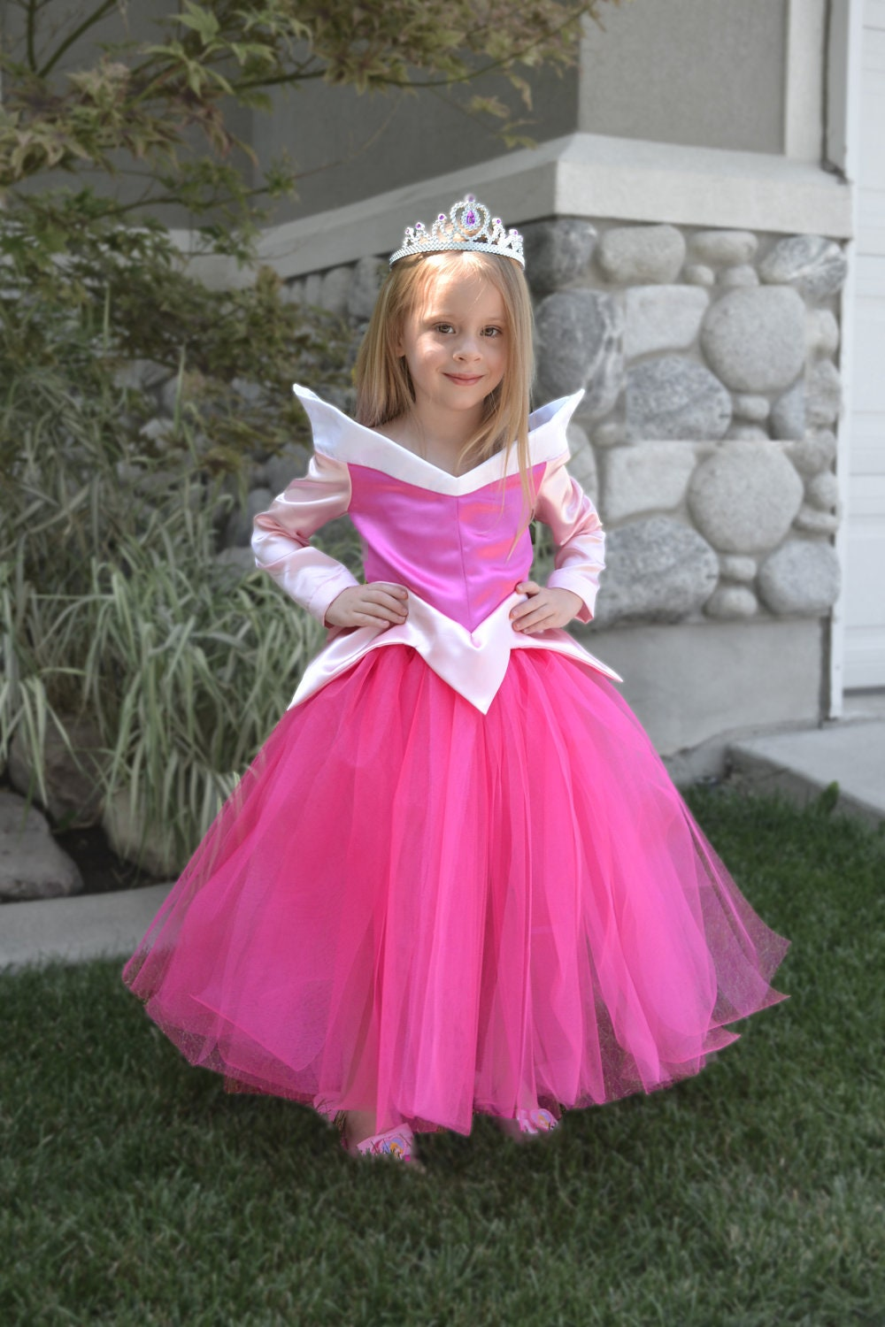 Sleeping Beauty Costume Dress, Princess Aurora Size 3 Ready to ship