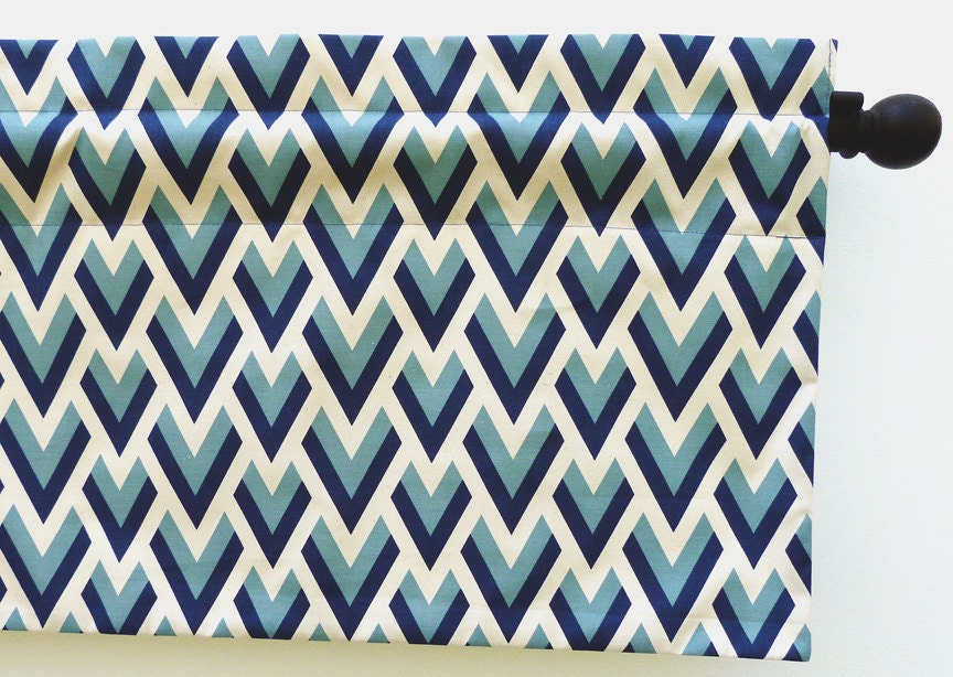 Blue And Orange Shower Curtain Green Chevron Curtains