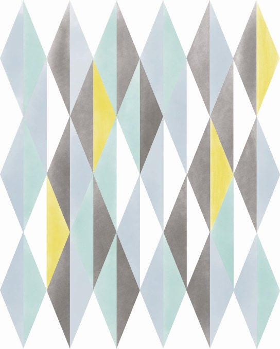 mid century modern geometric patterns. Black Bedroom Furniture Sets. Home Design Ideas