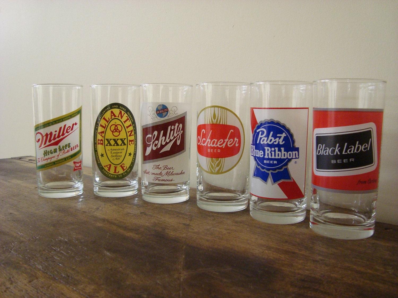 Vintage Beer Glasses 22