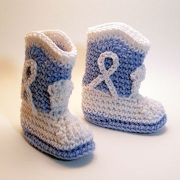 Knitting Pattern Baby Cowboy Booties : CROCHET COWBOY BOOT BOOTIES PATTERN FREE CROCHET PATTERNS