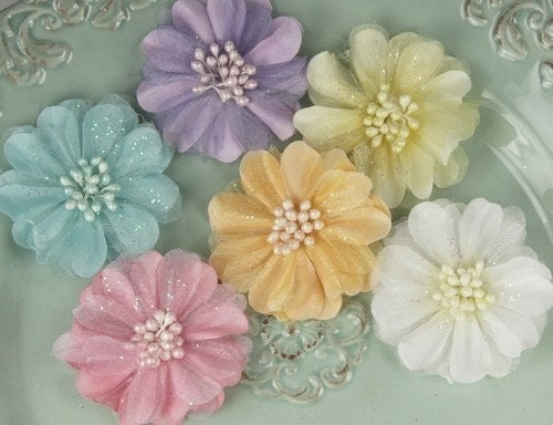 NEW ARRIVAL Roosevelt- carow Fabric Flowers