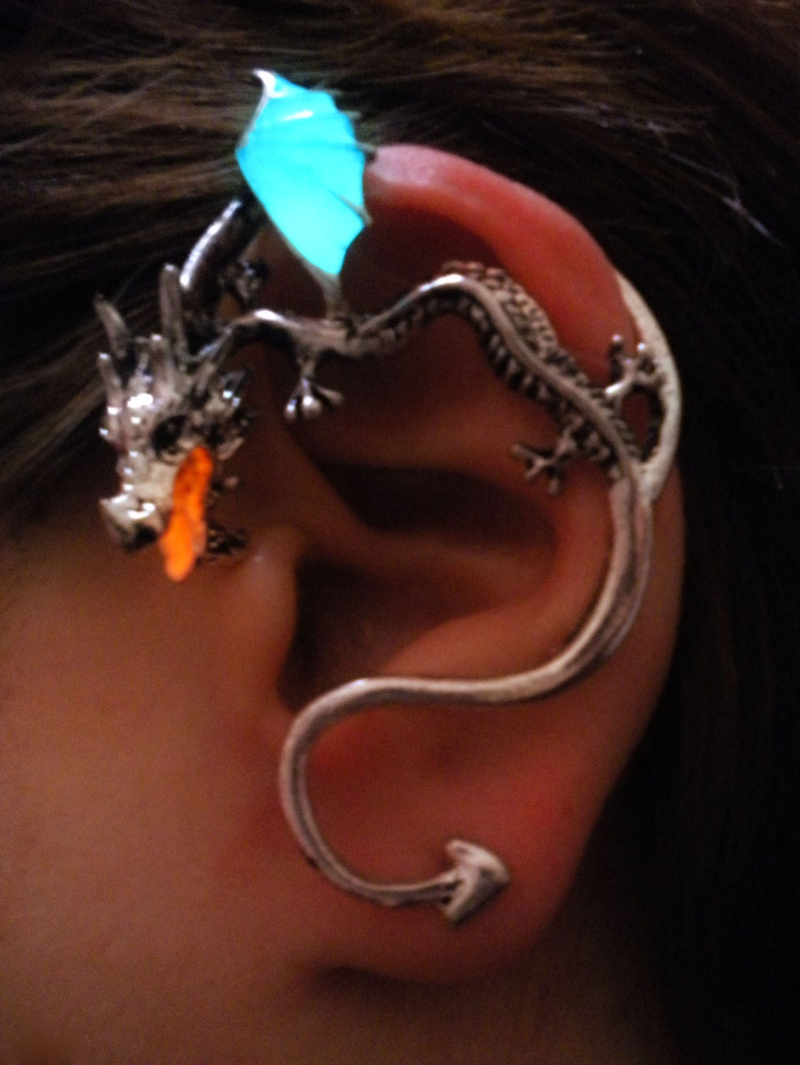Unavailable listing on etsy - Game of thrones dragon ear cuff ...
