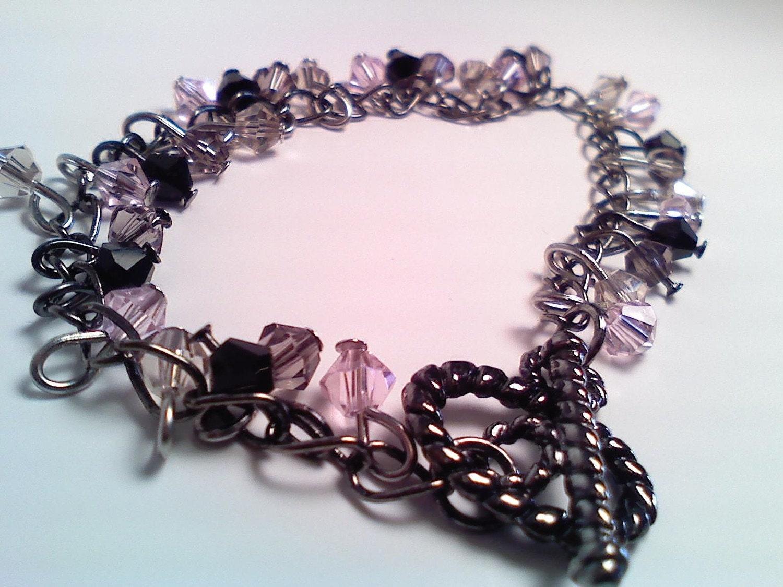 The Pink Tuxedo Bracelet