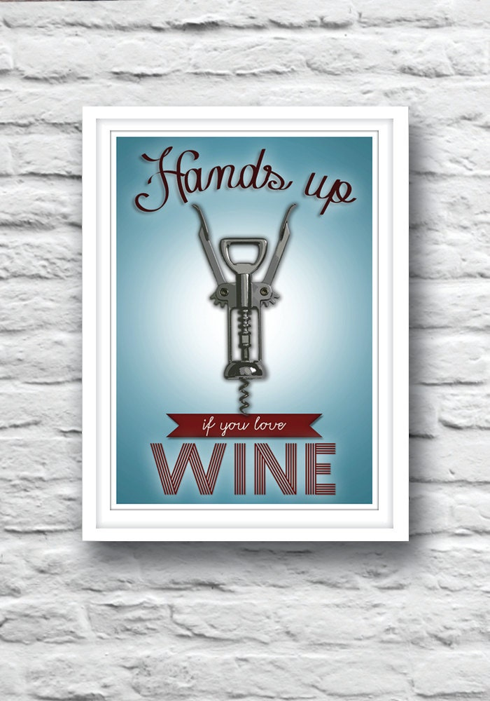 kitchen wall art wine poster funny poster love wine by