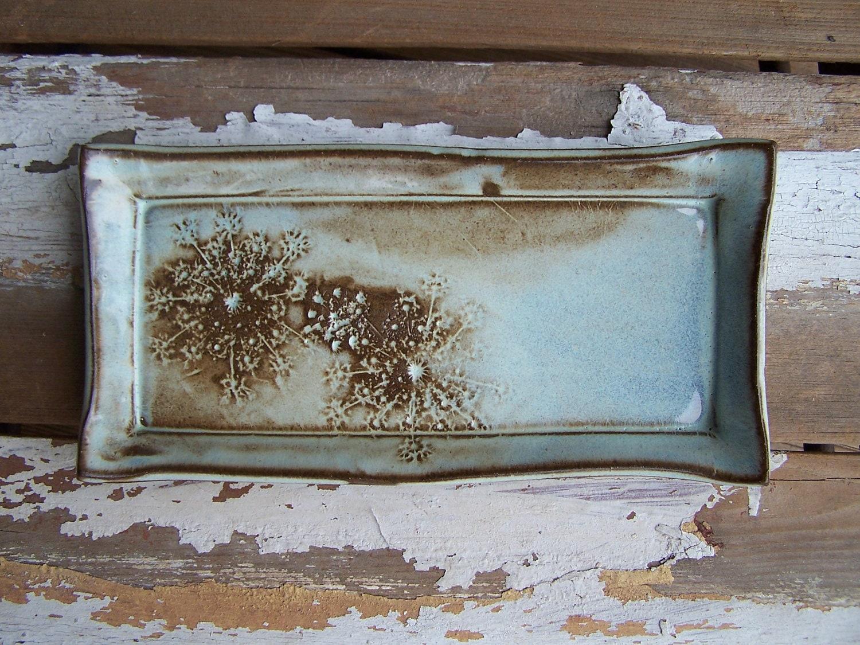 stoneware tray by mudandfiber.etsy.com