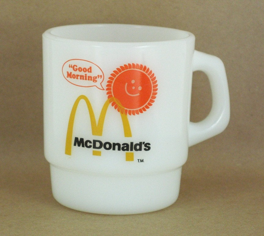 Vintage McDonald's Mug