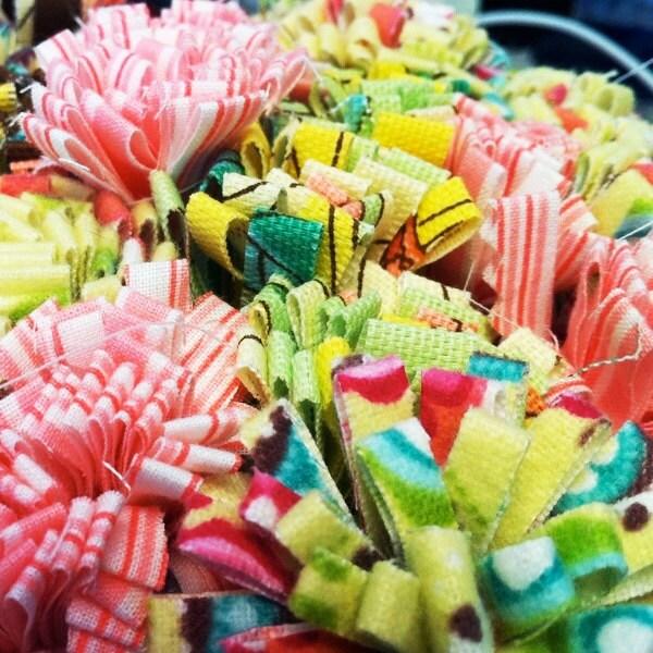 Party / Wedding Decorations - Fabric Flower Sticks (Batons Fleurs) by ...