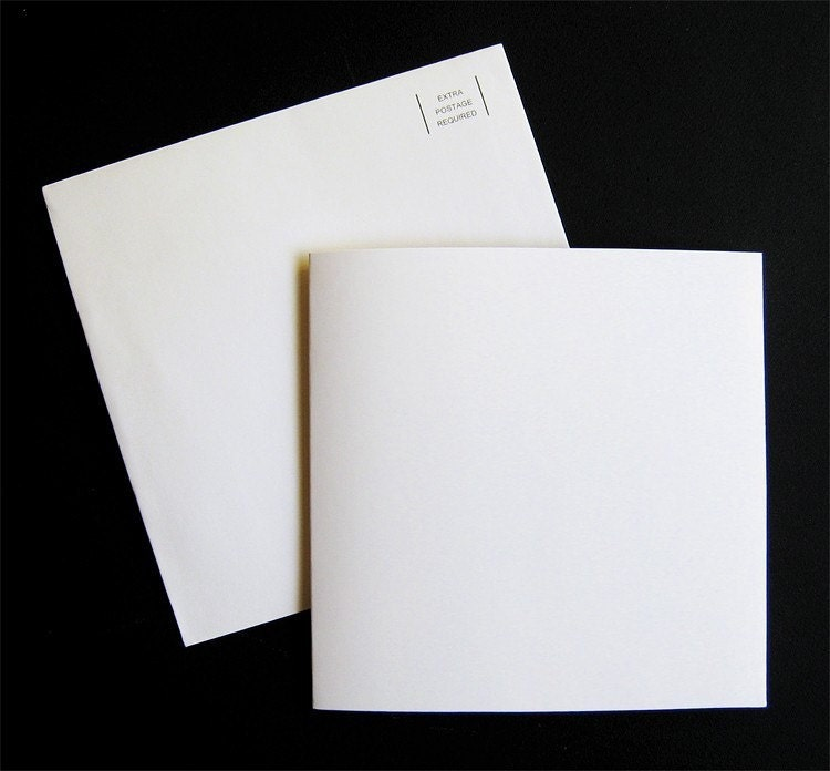 Blank Recordable Greeting Card with Envelope. From vocalgreetings