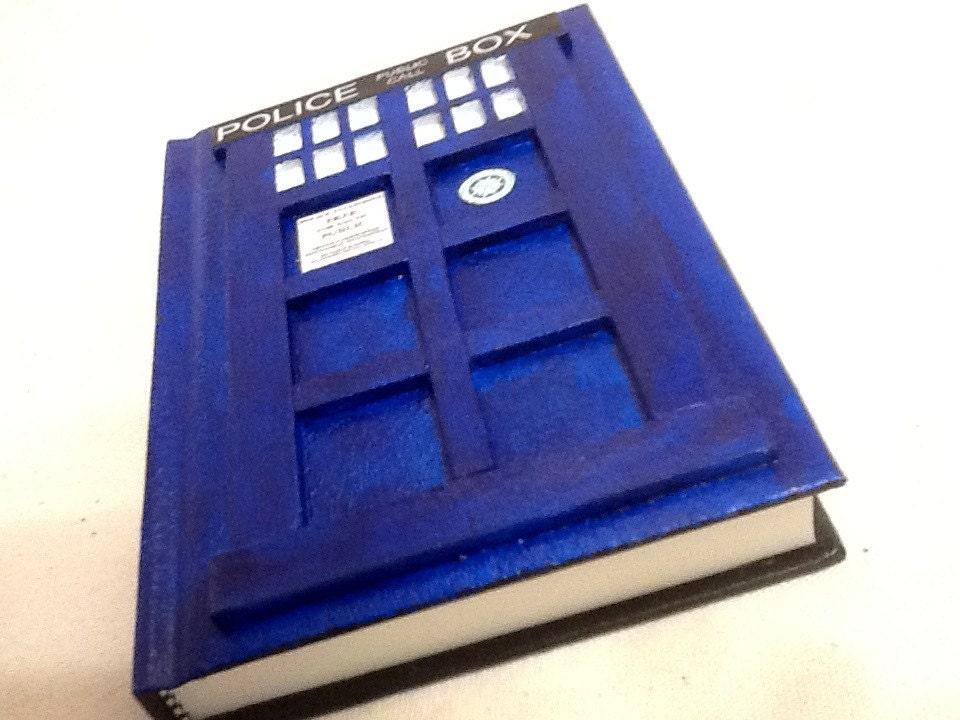 TARDIS Wedding Guest Book, Doctor Who Wedding Guest Book, Police Phone Box Wedding Guest Book 8.5X11