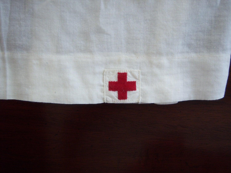 Vintage World War I Nurse Uniform American Red Cross- Hurricane Sandy Relief