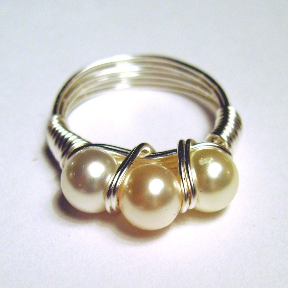 Perfect Pearl Ring