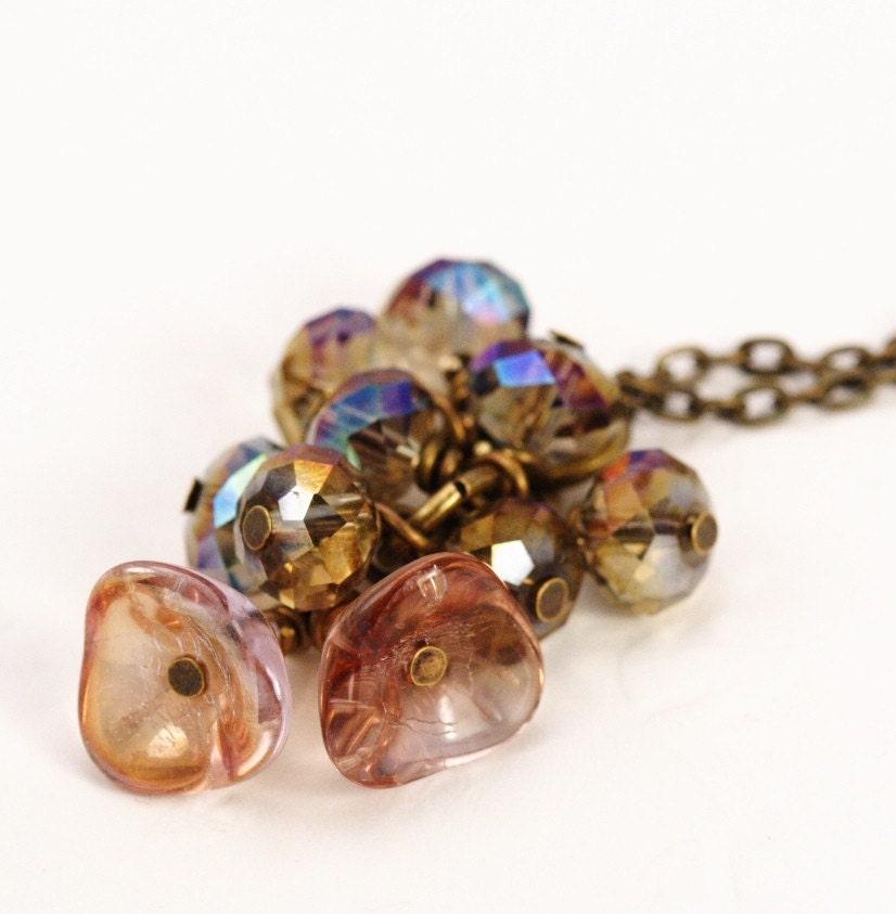 Honeysuckle Cluster Necklace