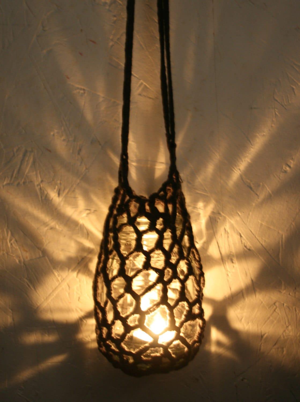 Bella Dia: Repurpose: Glass Jars + Crochet = Cool Containers Yarn