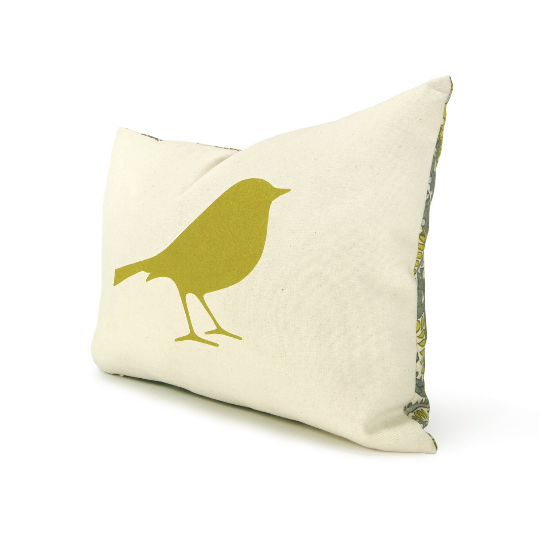 Decorative Pillow Cover 12x18 : Bird pillow cover 12x18 Lumbar pillow cover by ClassicByNature