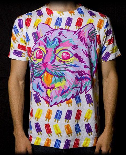 vibrant festival clothing sublimation shirt by ravenectar