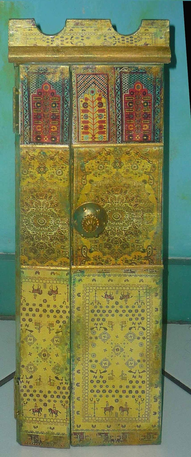 Cabinet, moroccan inspired,   SOLD