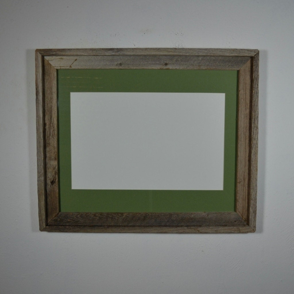 16x20 wood photo frame green 11x17 mat for posters by for 16x20 frame