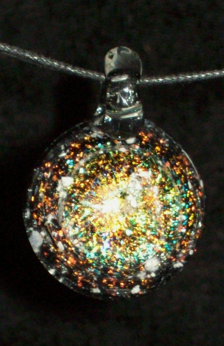 Cremation Glass Jewelry Remembrance Keepsake By Crisantiglass