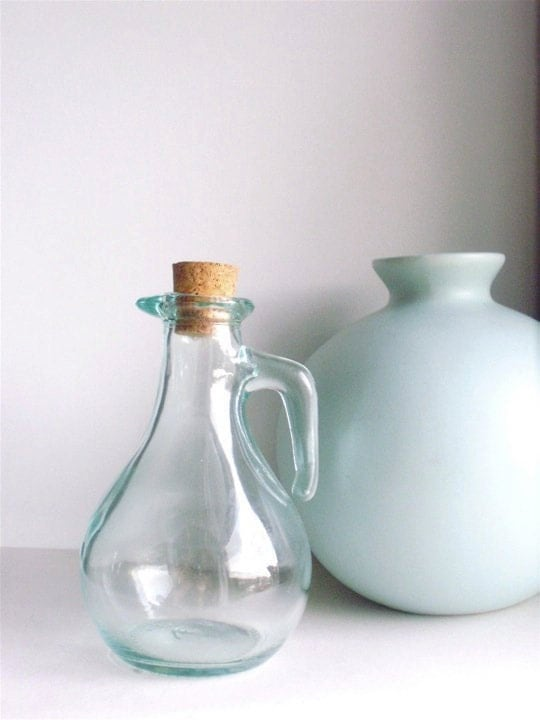 Small Corked Vintage Bottle