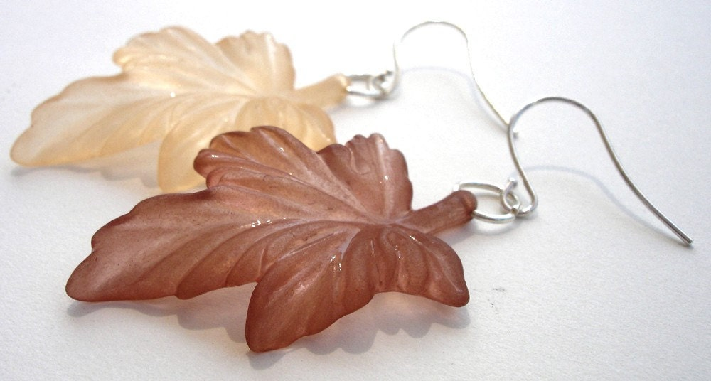 Late Autumn earrings