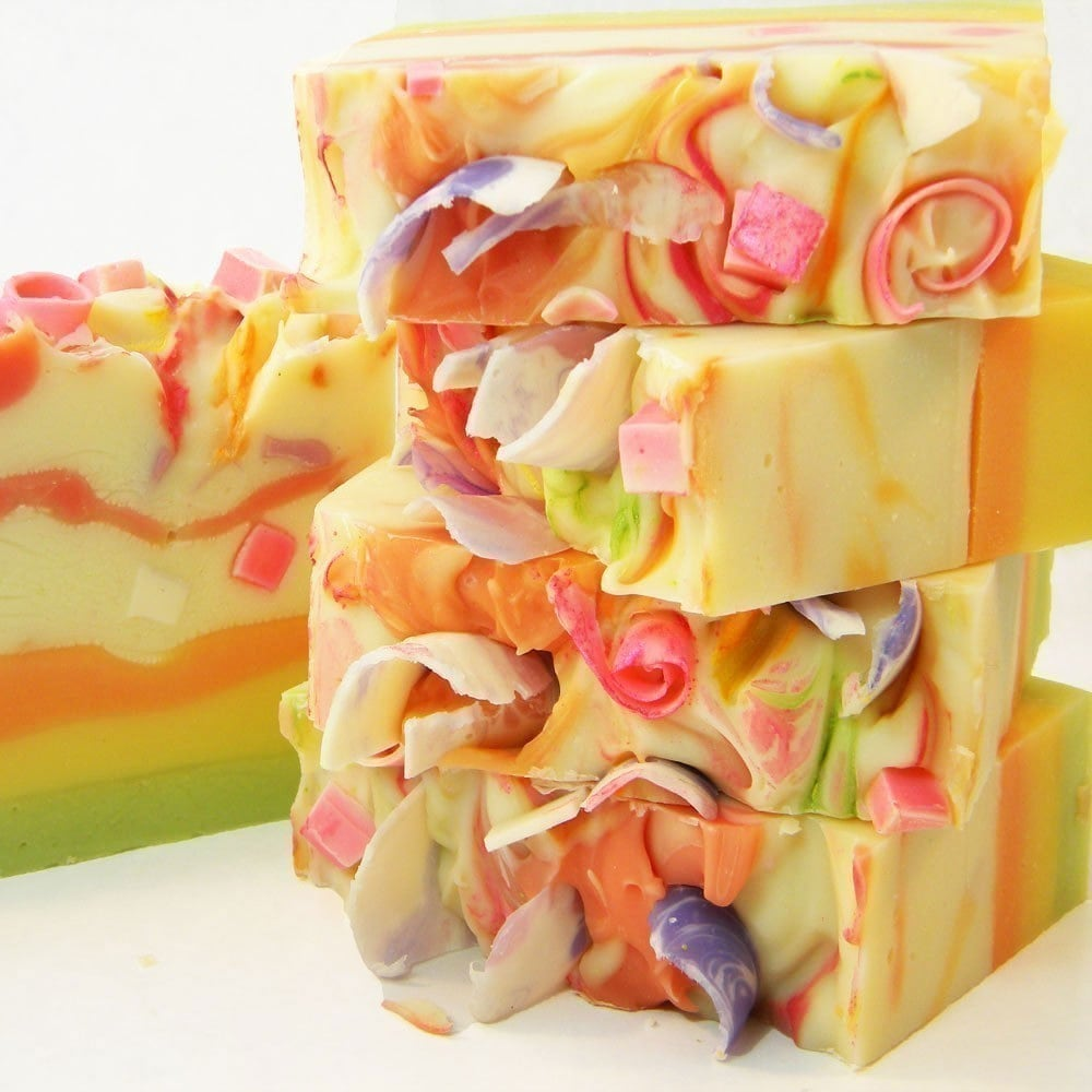 Tutti Fruiti Handmade Vegan Cold Process Soap by SV.Soaps