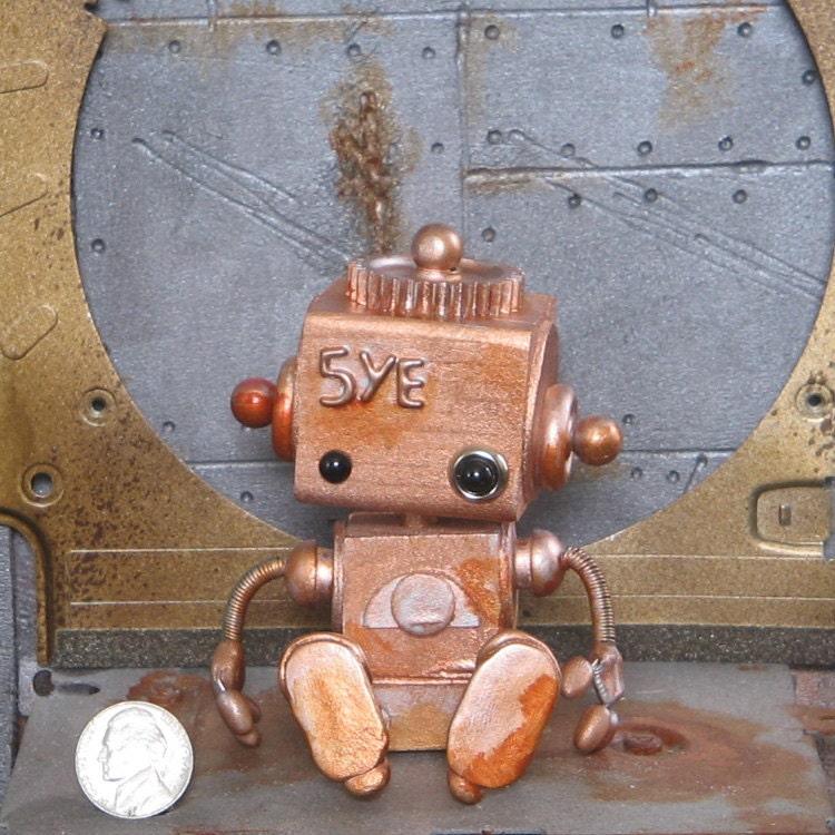 Steampunk Robot 5YE