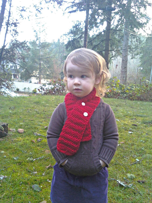 One Warm Coat Crocheted Scarf Crochet Pattern | Red Heart