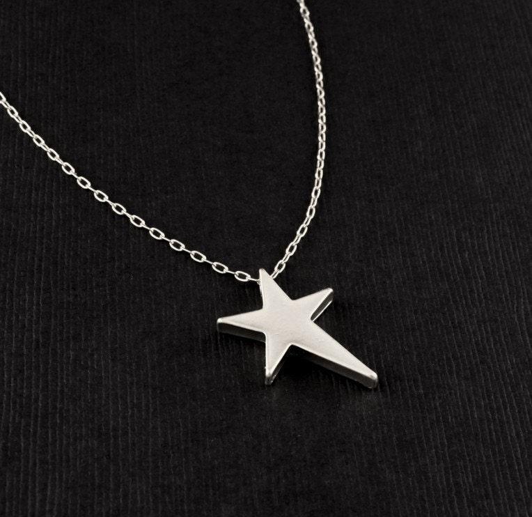 ROCK STAR  Pendant in Silver