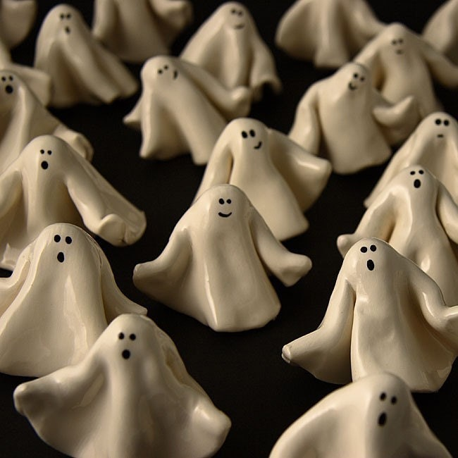 Halloween Ghost Miniatures Set of Three